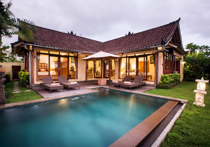 Villa Bali Green, 2 bedrooms, private pool villa.