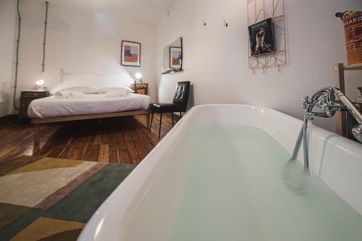 Melle e una notte, romantic flat with sauna
