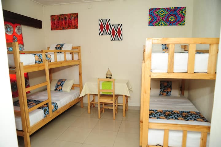NYUNGWE ROOM ( Double decks/bunk beds)