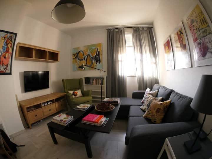 Apartamento centro El Puerto de Santa María (WiFi)