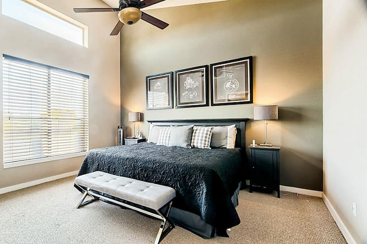 Master bedroom in East Downtown