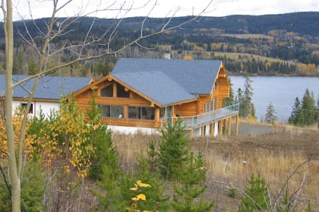Familysuite  sleeps 4, on Bridge Lake  B.C.