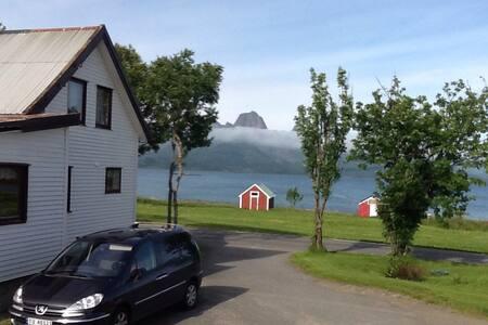 Koselig hus i Eidsfjorden