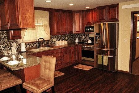 Luxurious apartment suite