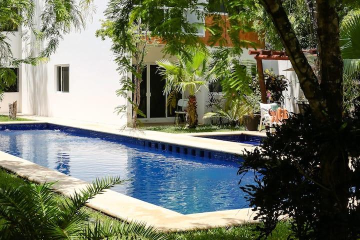 HA - Luz Tulum (apartamento PB con piscina)