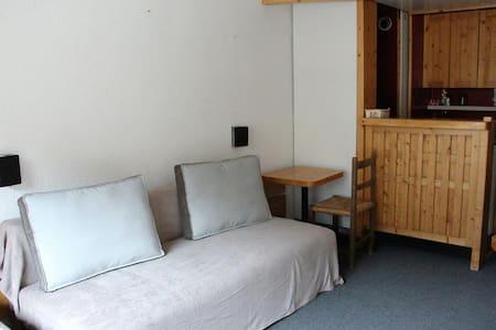 Beau studio, pied des pistes, meublé classé - Bourg-saint-maurice