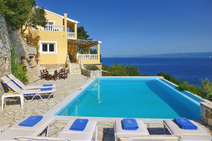 Villa Kalypso | private pool, 2 min to the Beach - Gaios - Villa