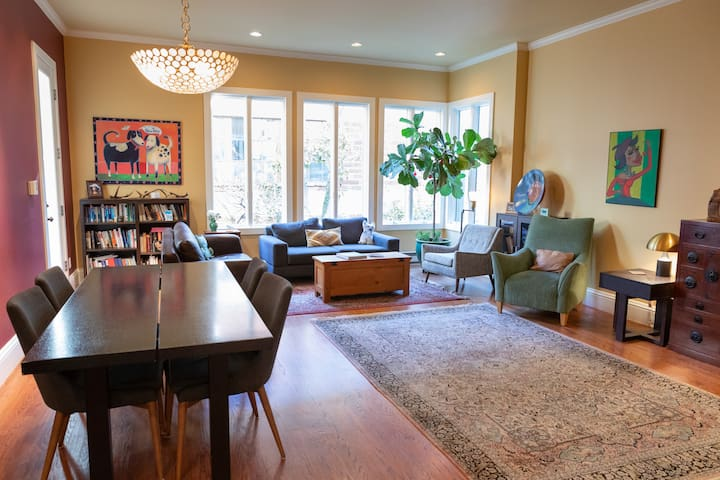 Stylish Mission Condo, steps to Dolores Park