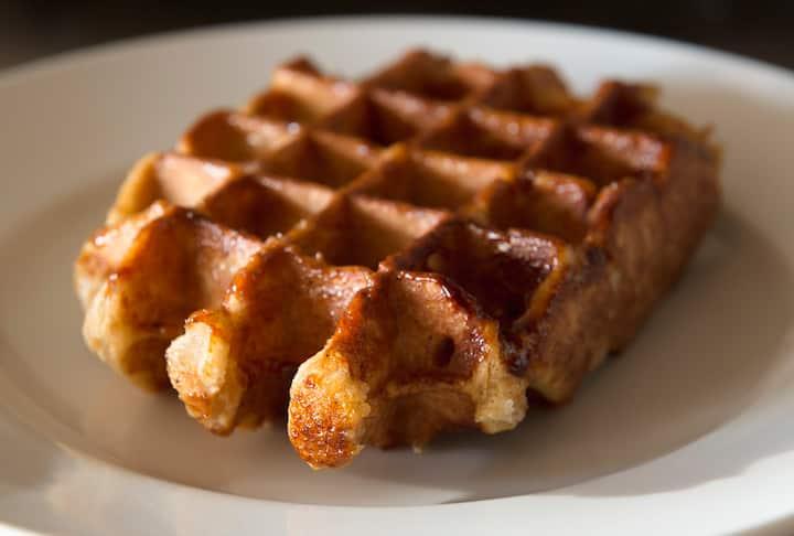 Waffle tasting