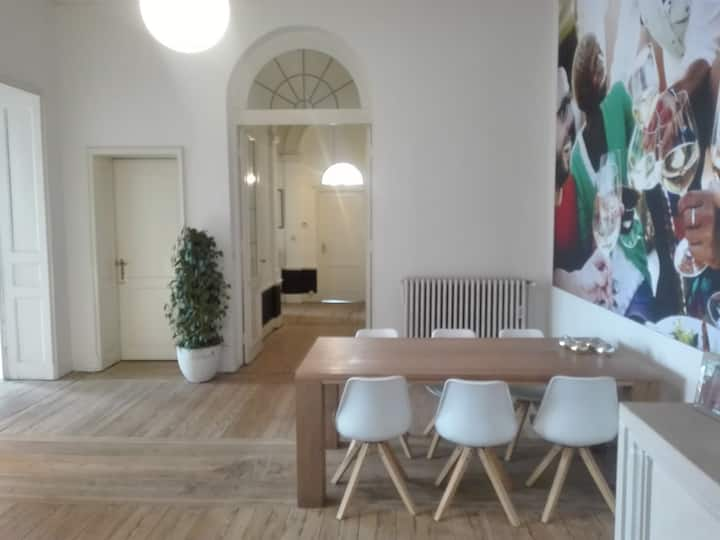 Spacious loft appartment 150m from central market