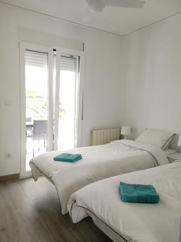 Bedroom 2 - beds as twin or double