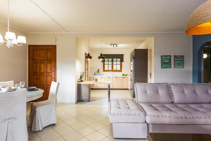 2 bedroom villa 1,5 km to the Sea!!