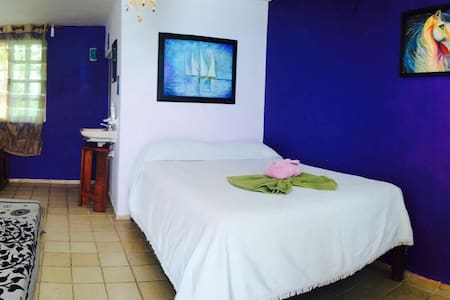 Private room for 3 persons - Bacalar - Dom