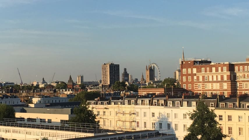 Room in gorgeous sunny Pimlico 2br flat SW1