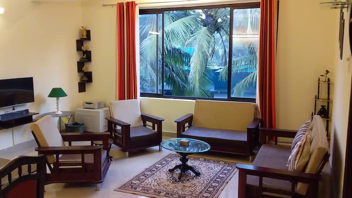 Siolim 2 Bedroom Furnished Apartment