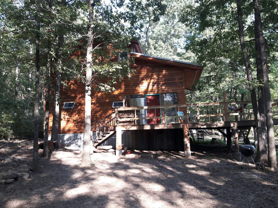 Red Star Retreat Cabin Cottages For Rent In Kingston