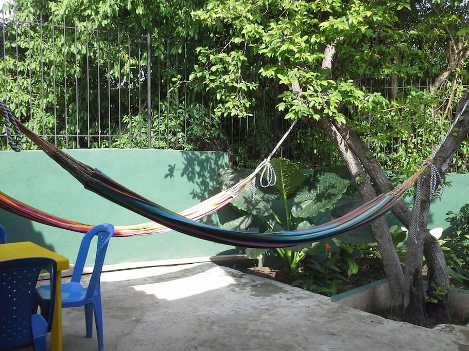 More hammocks to chill in the back yard