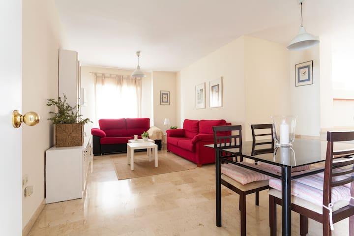 SPACIOUS & CENTRAL APARTMENT WITH NICE TERRACE 2ºC - Siviglia - Appartamento