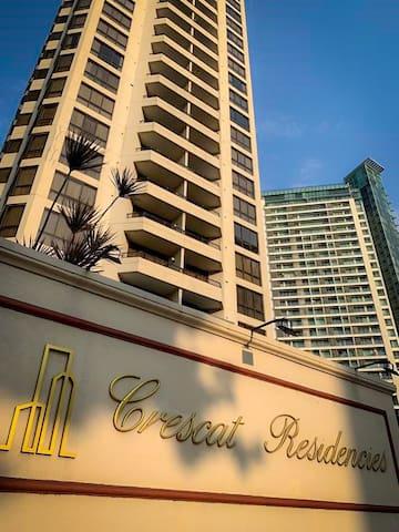 2 Bed Luxury Apartment @ Crescat Residencies