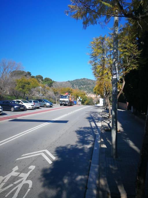 Vistas de la calle