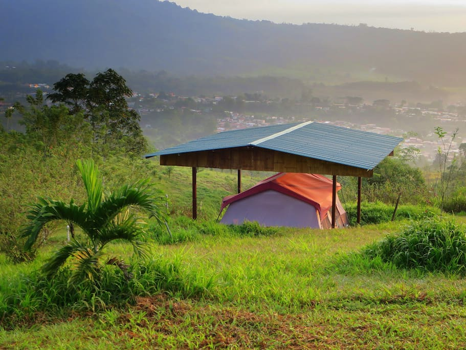 Each cabin tent is specially located to give you a unique and scenic view.