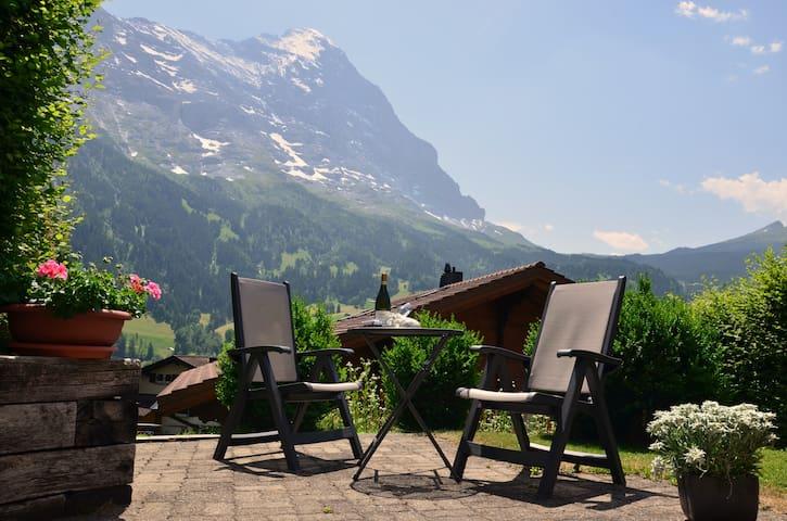 2-Zimmer-Gästehaus 40m2, inkl. W-LAN, sehr zentral - Grindelwald - Apartamento
