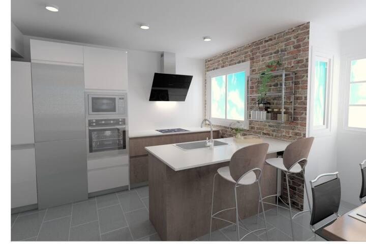 Habitación nueva para alquilar por dias