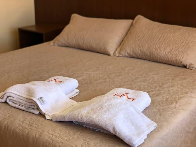 Hotel Mitru: Departamento con 3 habitaciones