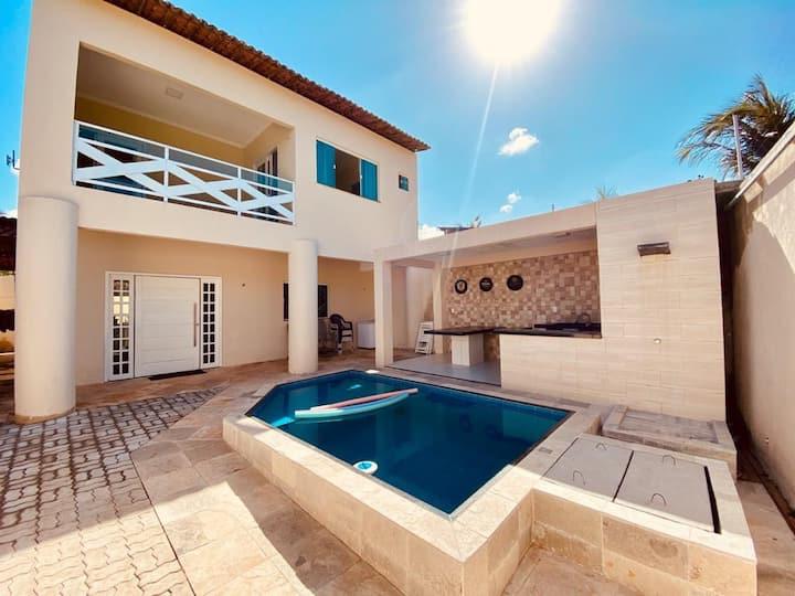 casa em flecheiras com piscina