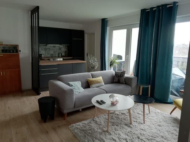 Appartement avec terrasse à 5min de cattenom