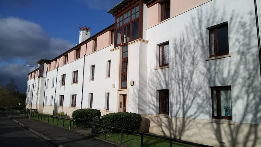 Uppa Close, self catering flat near Loch Lomond