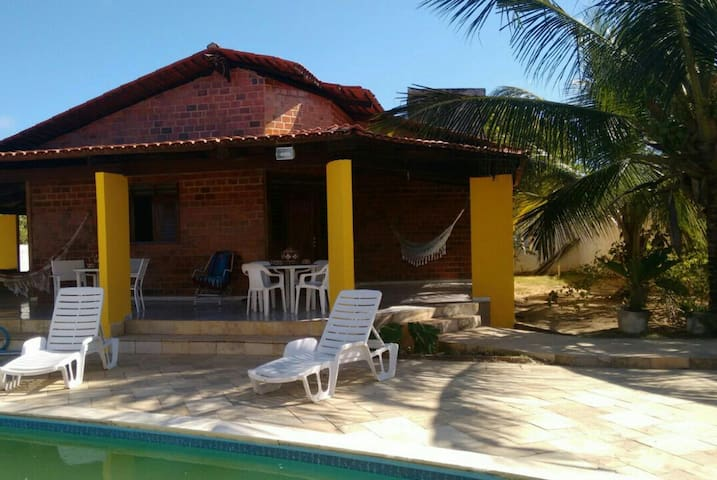 Casa confortável em Jacumã. - Conde - Dům