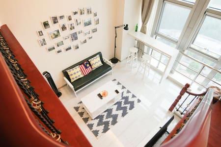 【新年】Lakeview loft绍兴迪荡 超赞湖景 大房子 - 绍兴市