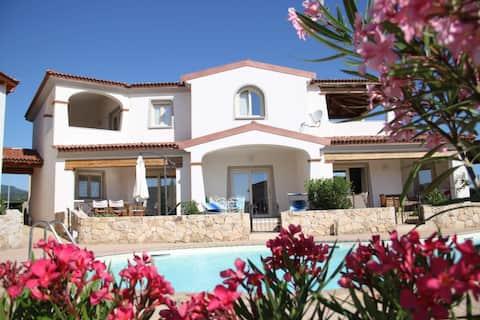 Mediterranean Sea&Shell Pool House
