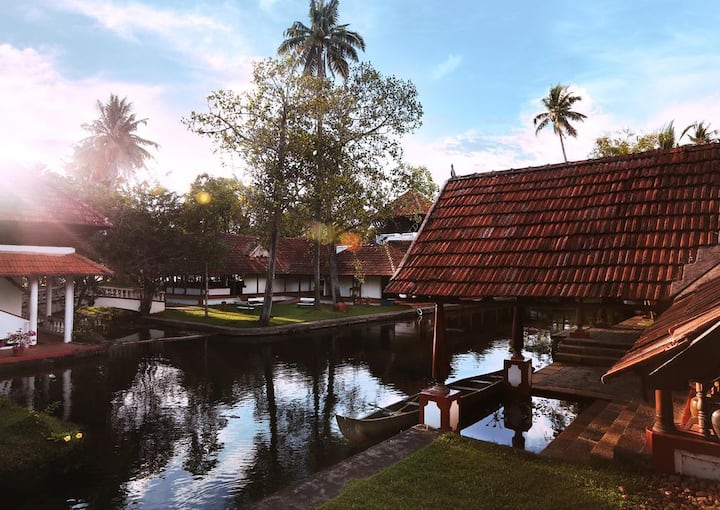 Paradise in the backwaters of Kerala
