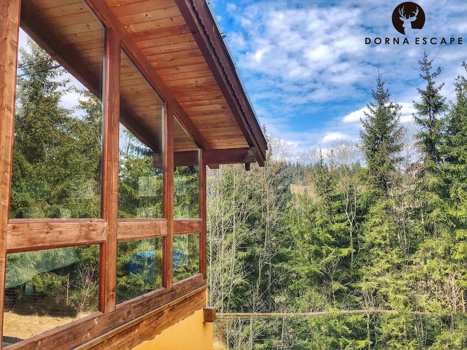 Cabana Escape Vatra Dornei Bucovina Lodge Cabin