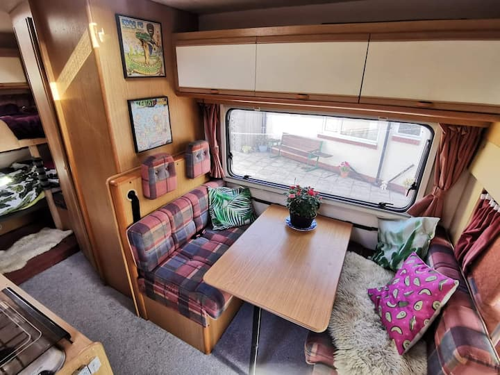 Cosy City centre 4 bed motorhome stay