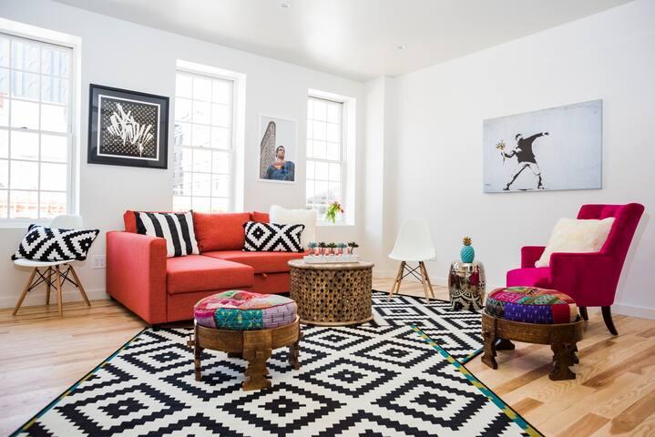 Stunning Brand New 2bed/2bath House Best Loacation - New York - Casa