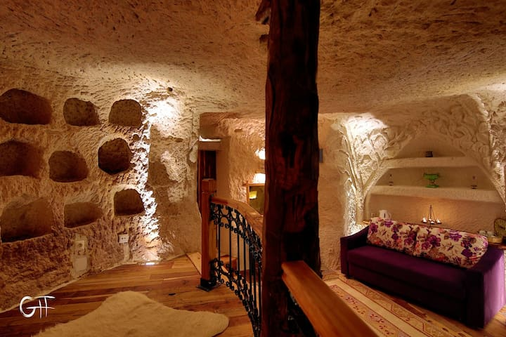 Panoramic cave hotel - Göreme - Appartement