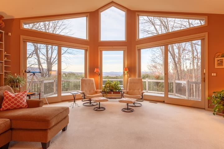 Sun Creek with Catskill Mountain views!