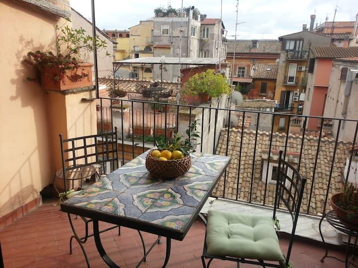 Lovenest terrace piazza di Spagna (lift-wifi-ac)