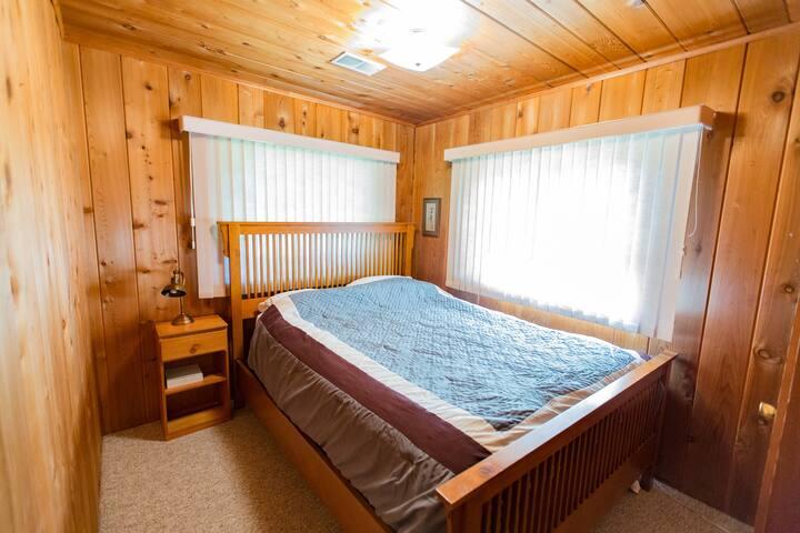 First bedroom- queen bed