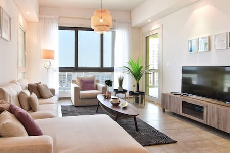 The Palm, Modern 3 bedroom with Terrace