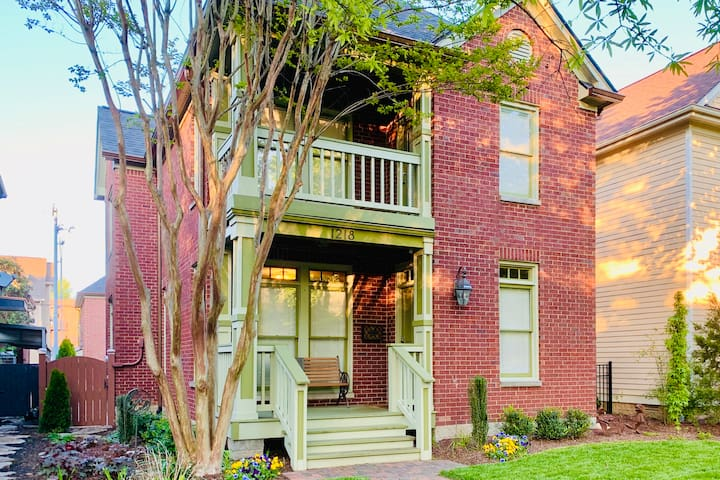 StayGermantown★Charming DT Home★1 mile to Broadway