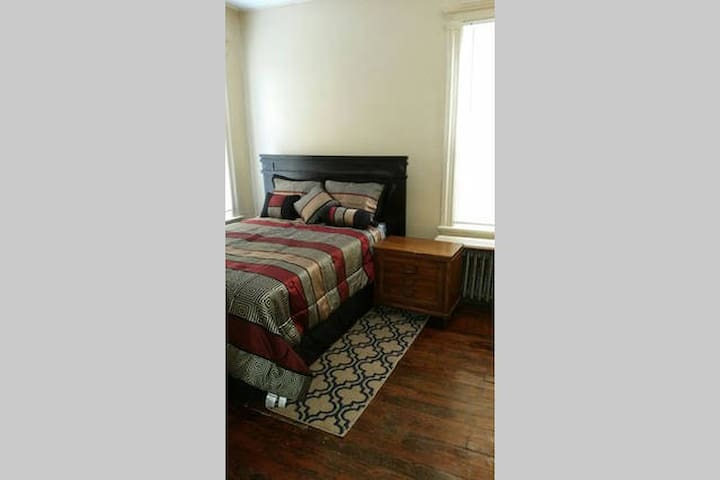 173 2B3 Private room near NYC and EWR airport - Newark - Apartament