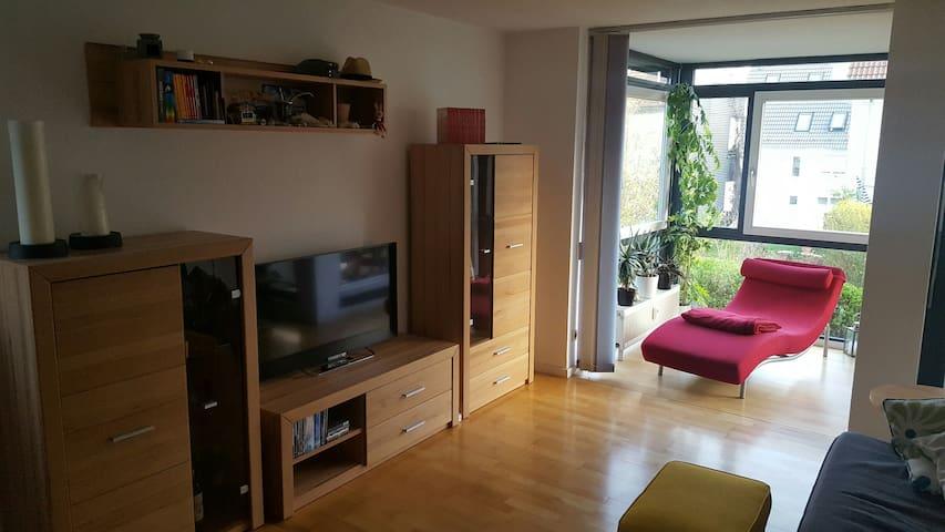 Gemütliche, Helle 2-Zimmer Wohnung mit Terrasse - Korntal-Münchingen - Apartament