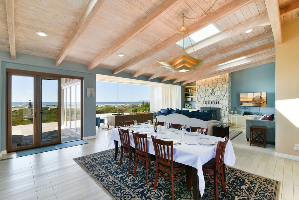 This amazing home has incredible ocean, beach and Morro Rock views.