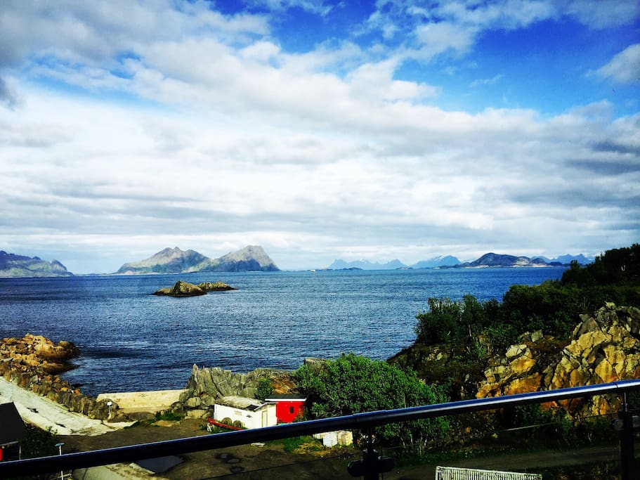 Utsikt 360 over Vestfjord