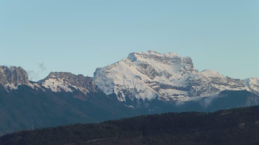 2 belles chambres dans maison  - vue sur montagnes