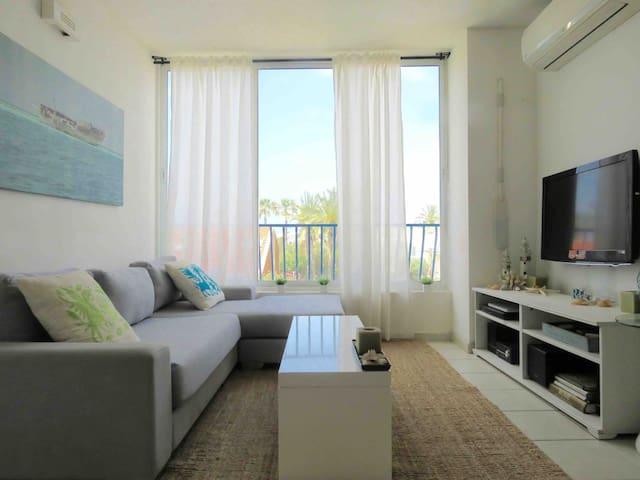 Sunny Beach Two Bedrooms Apartment - Herzliya - Leilighet
